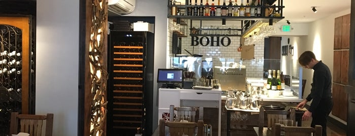 Cafe Boho is one of 2018 in SF.