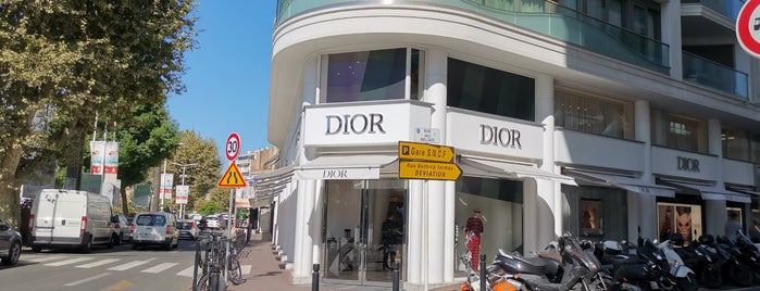 Christian Dior is one of French Riviera.