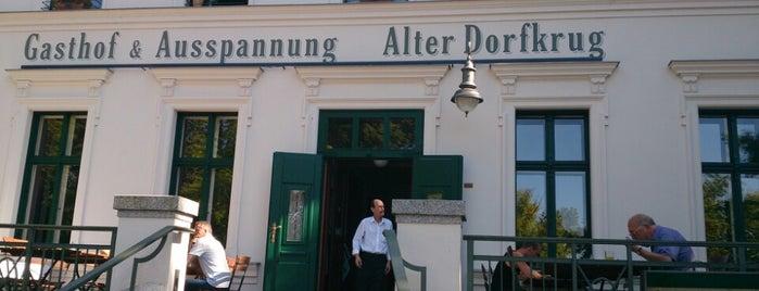 Alter Dorfkrug is one of Berlin.