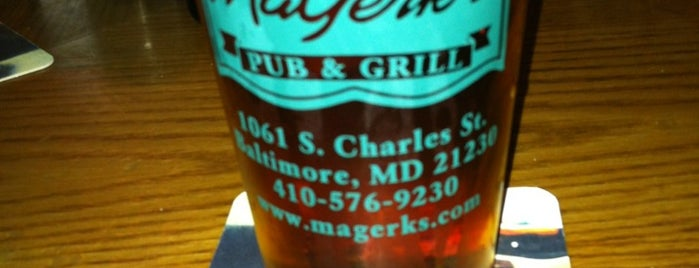 MaGerks Pub & Grill is one of JODY & MY PLACES IN MD REISTERSTOWN, OWINGS MILLS,.