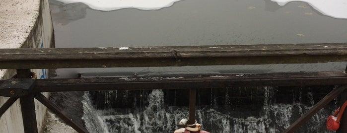 Мельничная плотина на реке Чурилихе is one of Новое-хорошо забытое старое!(Не забыть вернуться).