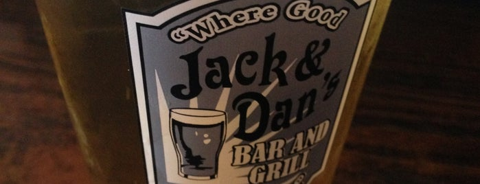 Jack & Dan's Bar and Grill is one of Let's Get Lost.