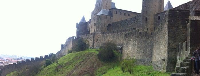 Cité de Carcassonne is one of Bienvenue en France !.