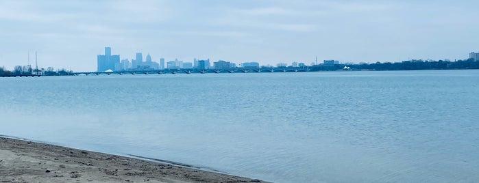 Belle Isle Beach is one of Detroit list.