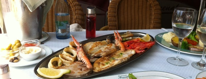 Restaurante El Arenal is one of Locais curtidos por Roberto.