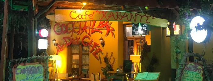 Karanti Cocktail Bar-Cafe is one of thassos.