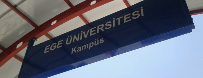 Ege Üniversitesi Metro İstasyonu is one of Locais curtidos por Gizem.