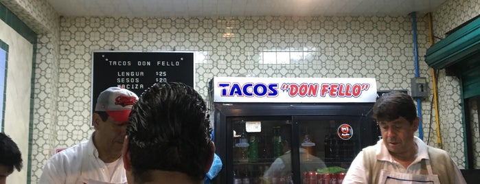 Tacos Don Fello is one of Locais curtidos por Beno.