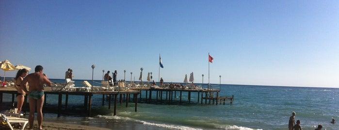 Sunset Beach Hotel  - Beach is one of Orte, die Yunus gefallen.