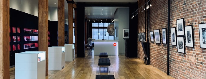 Leica Store is one of to do & eat - SF.
