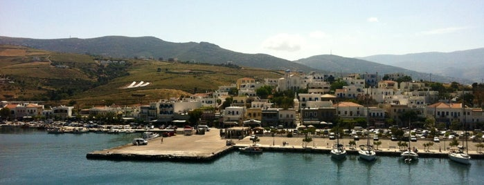 Port of Andros is one of Locais curtidos por maria.