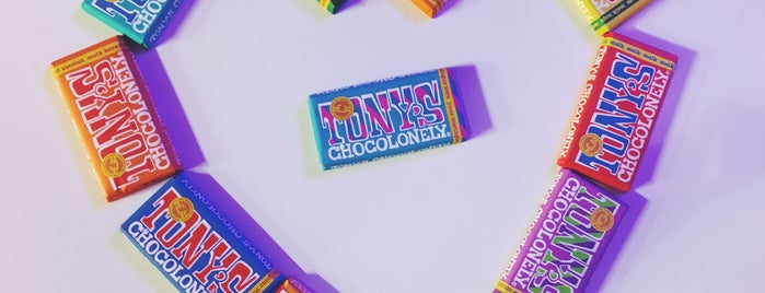 Tony's Chocolonely is one of S Marks The Spots in AMSTERDAM.