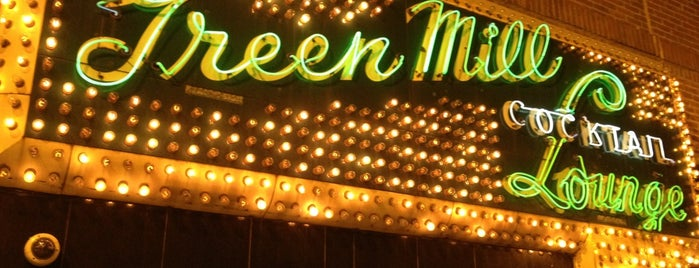 Green Mill Cocktail Lounge is one of concert venues 2 live music.