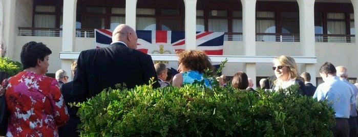 British Embassies, High Commissions & Consulates