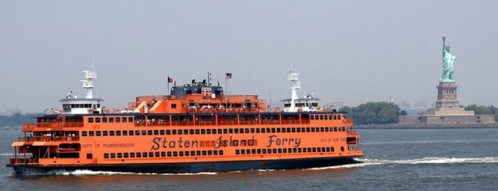 Staten Island Ferry - Whitehall Terminal is one of World Heritage Sites List.