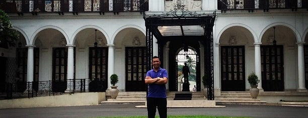 Malacañan Palace is one of The National Palace.
