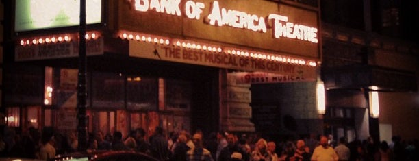 CIBC Theatre is one of CHICAGO.