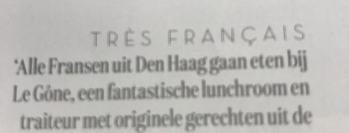 Tres Francais is one of Den Haag Scheveningen.