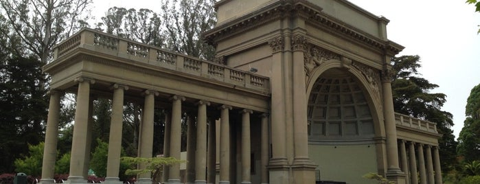 Spreckels Temple of Music is one of Going Back To Cali...Again.
