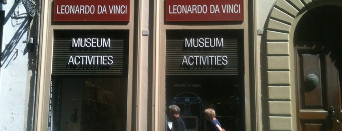 Museo Leonardo Da Vinci Firenze is one of Alenaさんのお気に入りスポット.