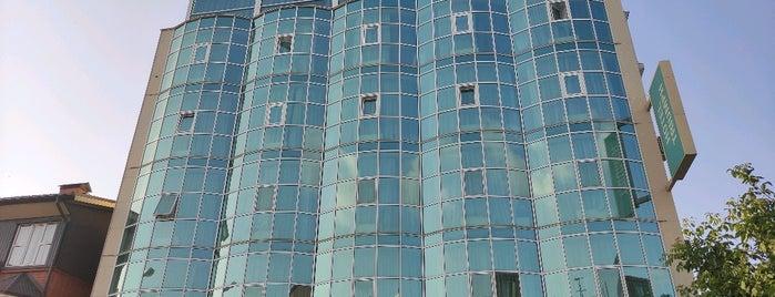 Triumph business class hotel Krasnodar is one of Sergey : понравившиеся места.