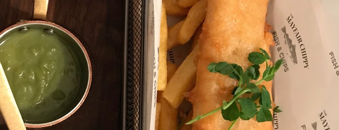 The Mayfair Chippy is one of London 🇬🇧.