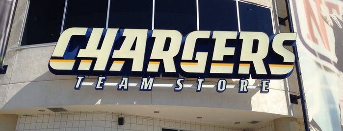 Chargers Team Store is one of What should I do today? Oh I can go here!.