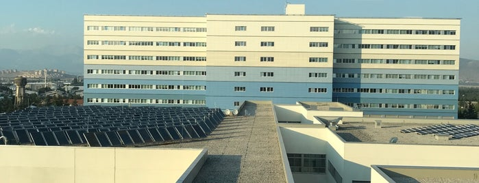 Isparta Şehir Hastanesi is one of Locais curtidos por Fatih.