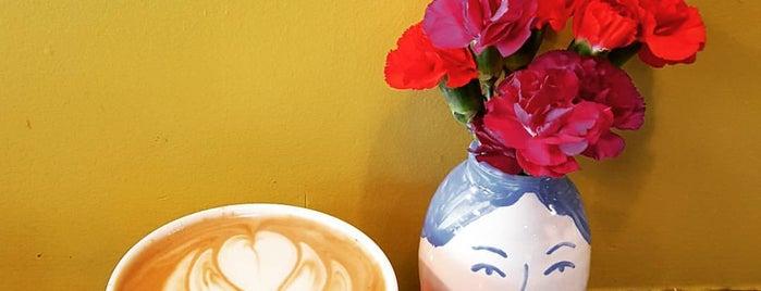 La Mano Coffee Bar is one of Tempat yang Disukai Matt.