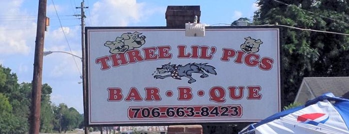 Three 'Lil Pigs is one of Favorite traveling eats.