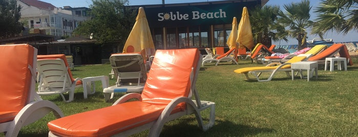 Sobbe Beach Club is one of Tempat yang Disukai Caner.