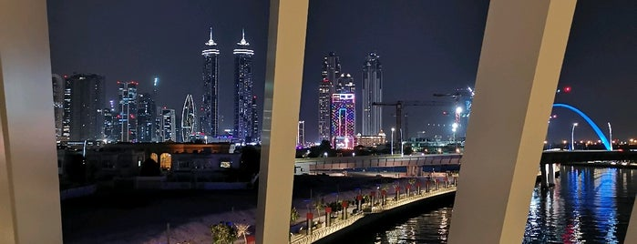 Dubai Water Canal is one of Дубай.