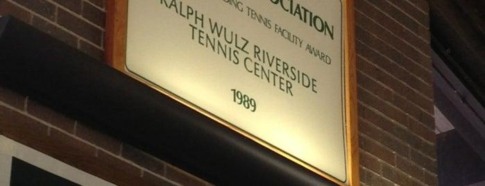 Ralph Wulz Riverside Tennis Center is one of Guide to Wichita's best spots.