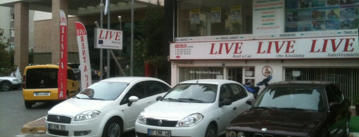 Live rent a car is one of Nryさんのお気に入りスポット.