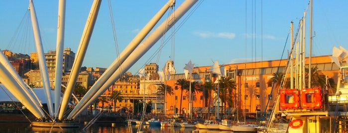 Porto Antico is one of Genua.