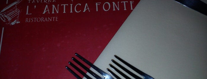 Taverna L'Antica Fonte is one of Italia.