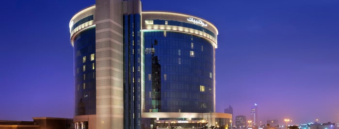Mövenpick Hotel Al Khobar is one of Yazeed 님이 좋아한 장소.