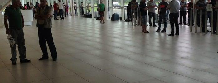 Kutaisi International Airport (KUT) | ქუთაისის საერთაშორისო  აეროპორტი is one of Airports (around the world).