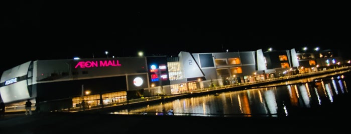 AEON Mall is one of + Kobe.