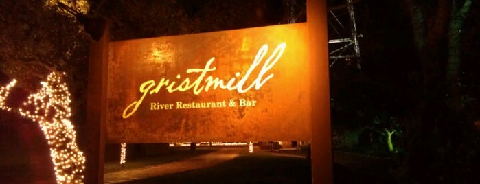 Gristmill River Restaurant & Bar is one of New Braunfels.