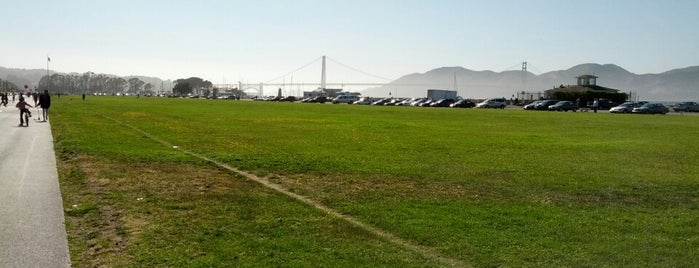Marina Green is one of SFO.