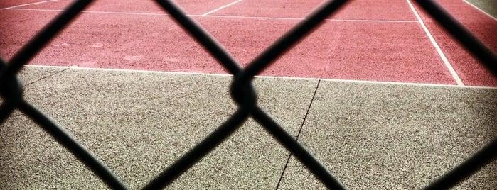"""Gymnase et Tennis du Fonds des Princes is one of Le parcours """"Pass Jeunes""""."""