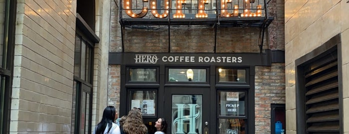 Hero Coffee Bar is one of 3 Days in 312.