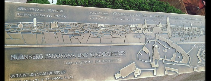 Burggarten (Imperial Castle Gardens) is one of Nürnberg, Deutschland (Nuremberg, Germany).