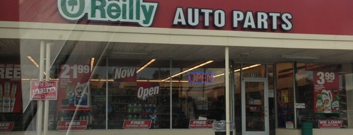O'Reilly Auto Parts is one of favorites.