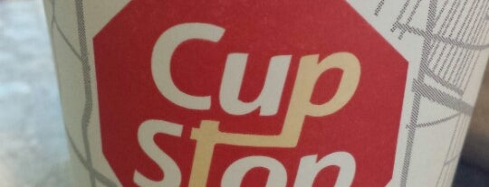 Cup Stop is one of Locais curtidos por Katia.