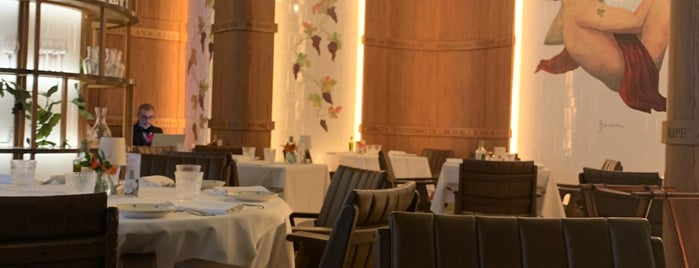 Ristorante Frescobaldi is one of London.