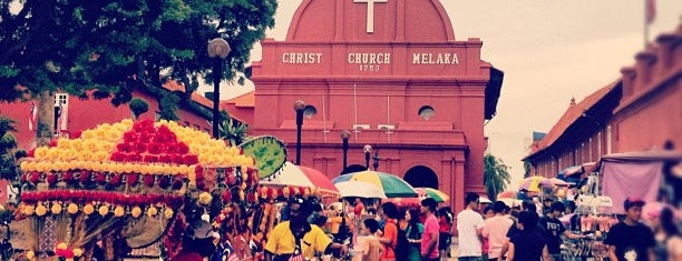 Christ Church Melaka is one of Malaysia Interest.