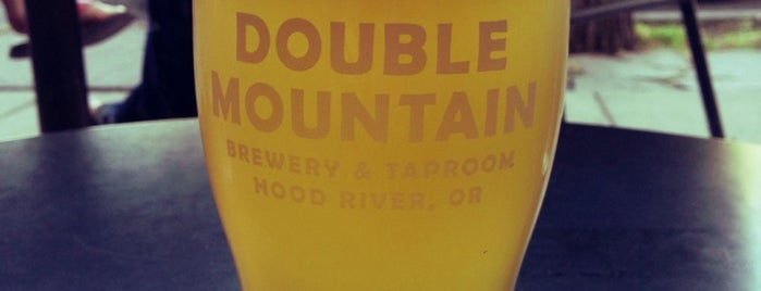Double Mountain Brewery & Taproom is one of Hood River by Bikabout.com.