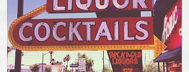 Atomic Liquors is one of United States of A.